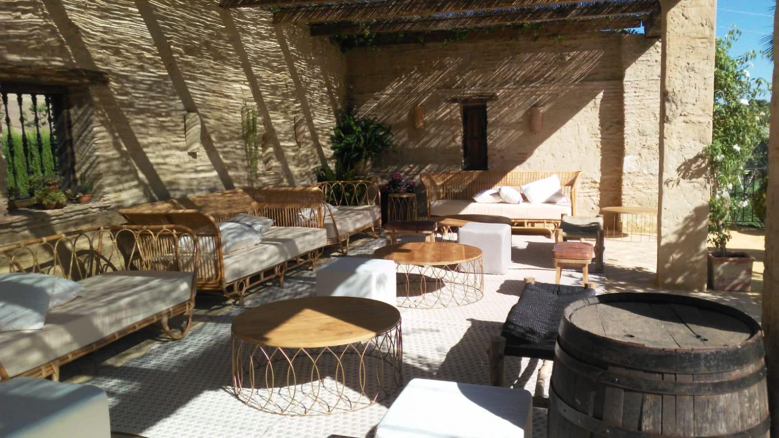 Mobiliario Bambú