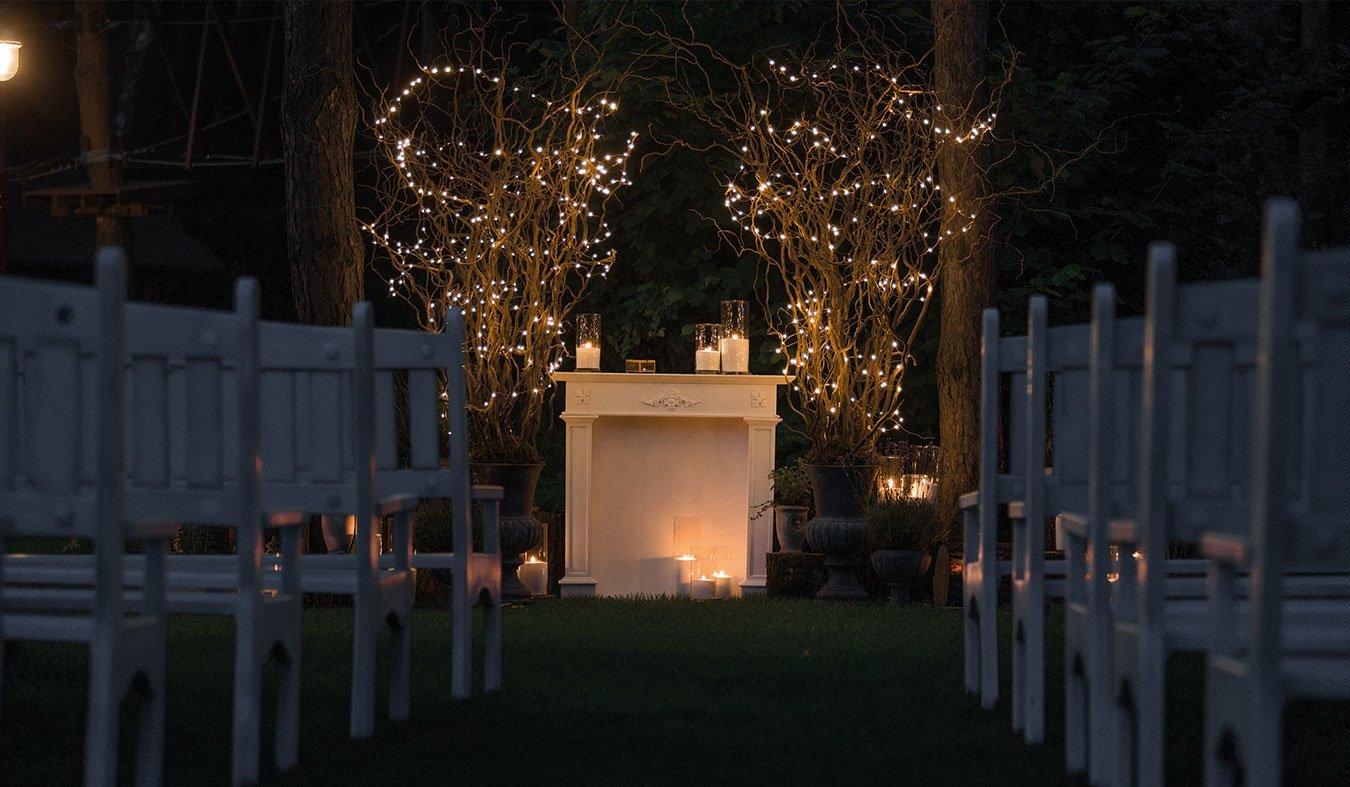 iluminacion para bodas kokko eventos - Ilumina tu boda