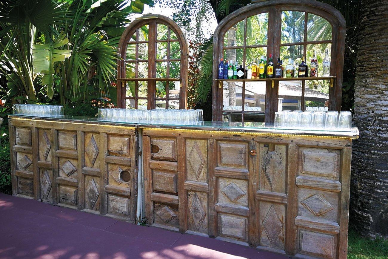 barra de bar original boda