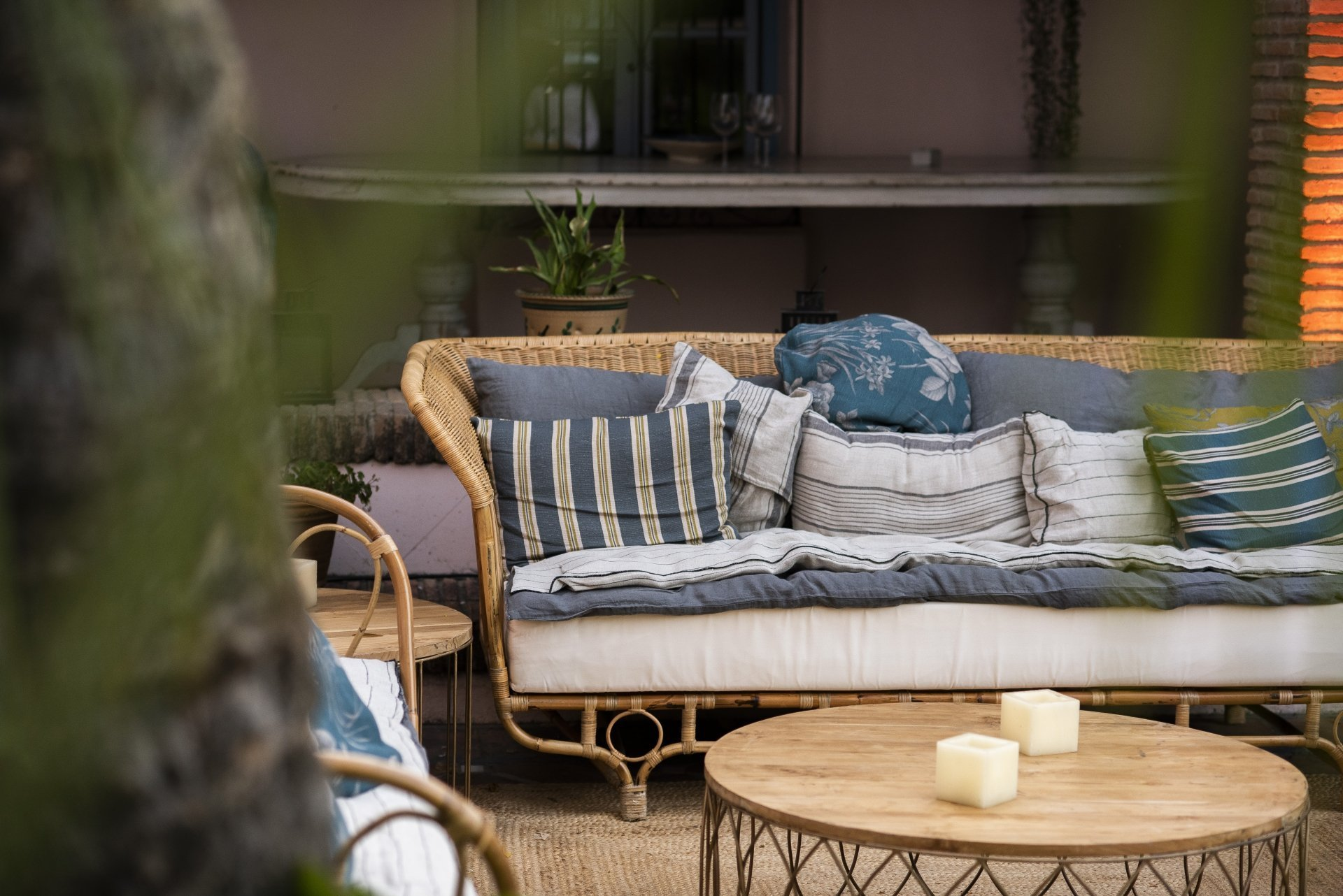 mobiliario bambu