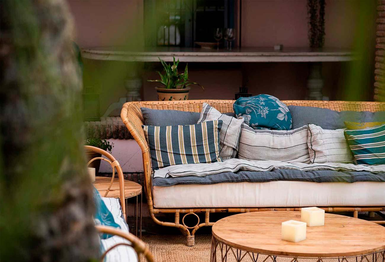 Textiles para personalizar el mobiliario de tu boda