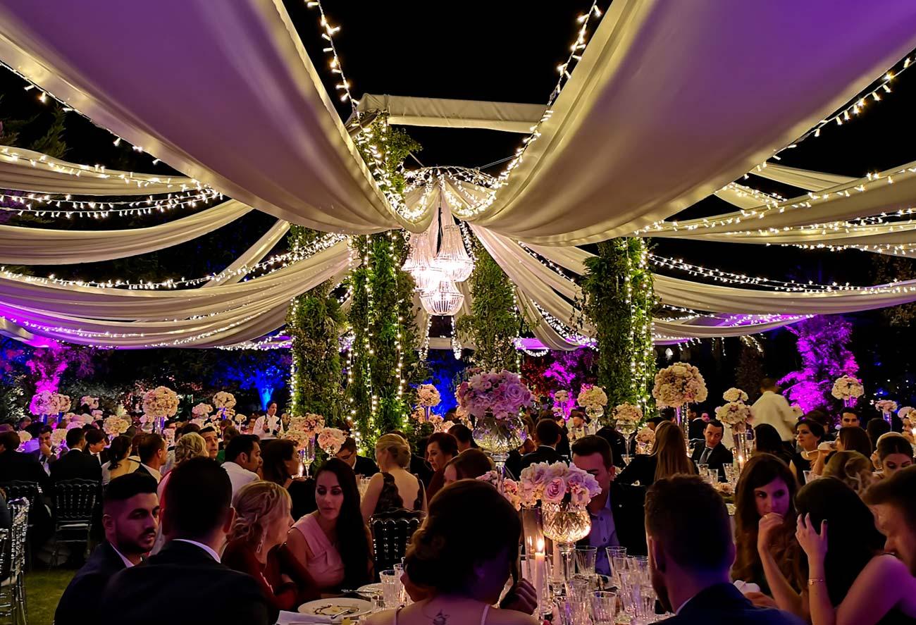alquiler de carpas para bodas en verano