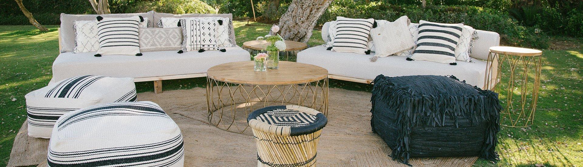 slide mobiliario - Alquiler de mesas para boda